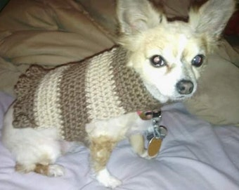 Crochet Pet Sweater
