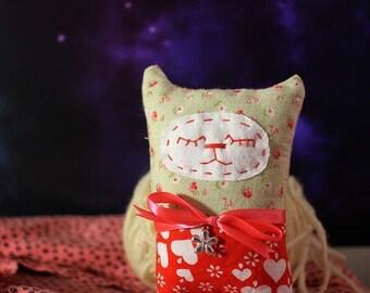Handmade soft toy Krivolapik