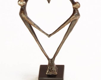 Sculpture Heart for each other