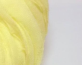 Light Fabric Yarn in Bright Yellow