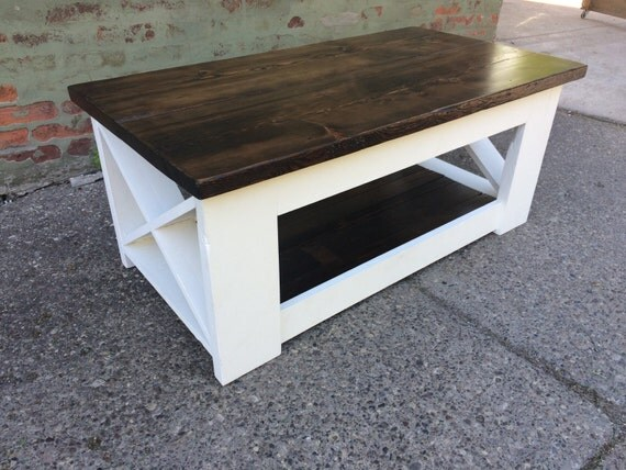 Rustic Coffee Table By BairdWoodWorks On Etsy