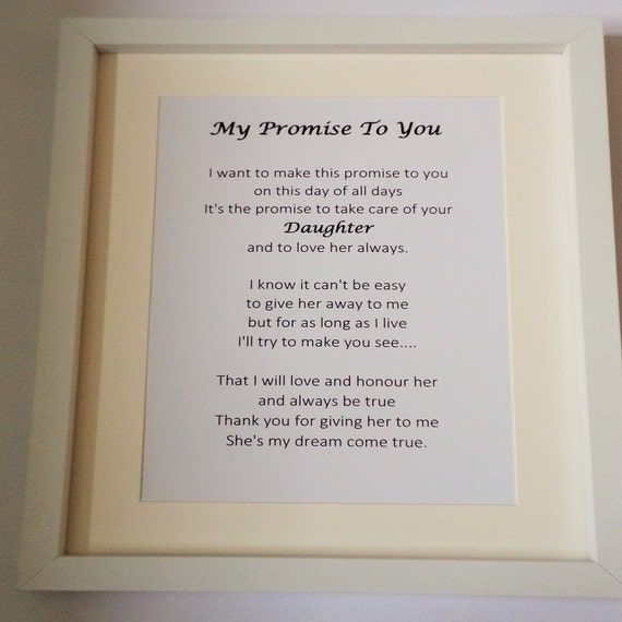 Wedding Gifts For Father In Law : my Father in Law on my wedding day, personalised wedding gift, gifts ...