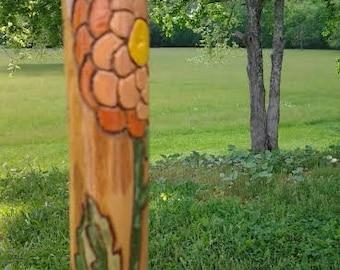 Floral Vine Walking Stick
