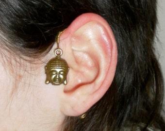 Buddha hindu ear cuff wrap clip
