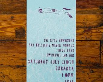 The Kyle Sowashes / Smug Bros Screenprinted Poster