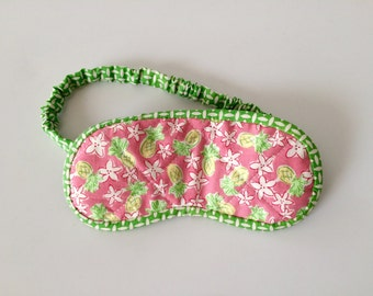 Lilly Pulitzer Pineapple Sleep Mask