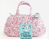 Clover Make Up Bag PDF Sewing Pattern | Small Handbag Pattern | Cosmetics Case Pattern | Mini Purse | Small Zip Top Bag