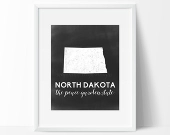 North Dakota Printable