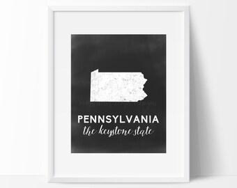 Pennsylvania Printable