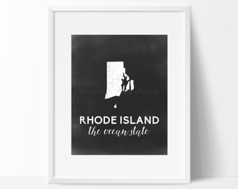 Rhode Island Printable
