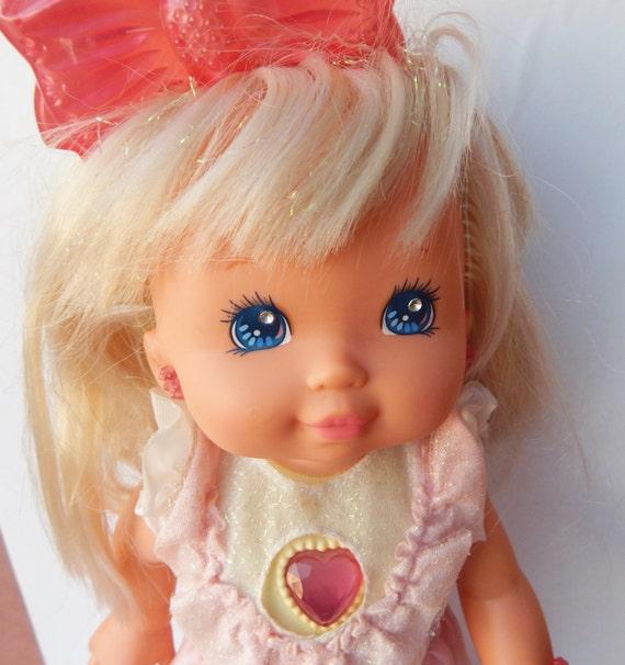 80s Toy Dolls : Vintage s mattel pj sparkles starbrite doll lights up