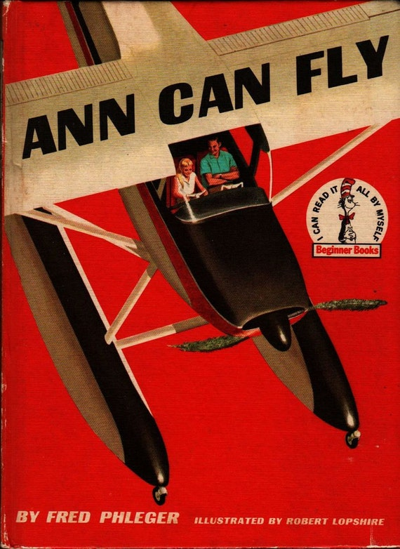 Ann Can Fly - Fred Phleger - Robert Lopshire - 1959 - Vintage Kids Book