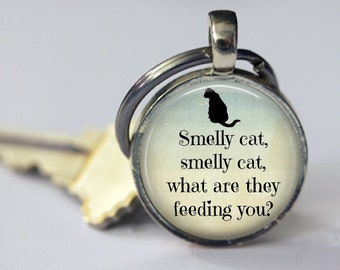 Smelly Cat - Friends Key Chain - 25mm Round