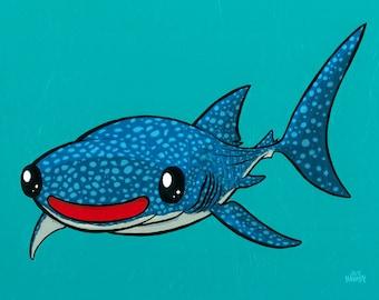 Whale Shark 11x14 Giclee Print