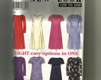 New Look  Women's Dress Pattern 6819