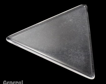 62mm Clear Triangle Blank (2 Pcs) #3474