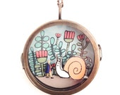 Stella Stumbled Upon a Giant Snail Diorama Locket