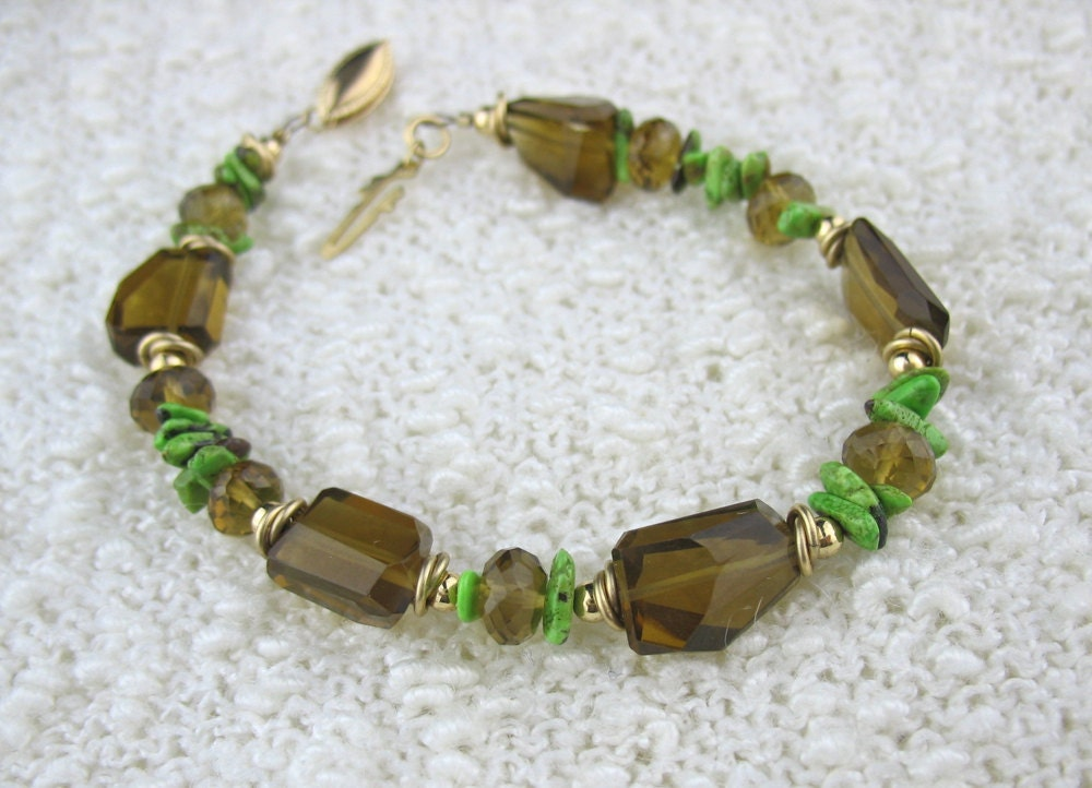 Chunky Gemstone Bracelets