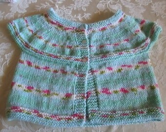 Childs sleeveless sweater