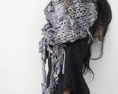 Continuum // Oversize Heavy Cotton Knit Scarf