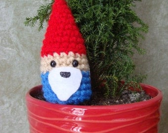 Little Gnome Ornament or Keychain