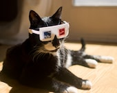 3-D Glasses for Cats!