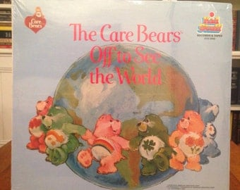 Care Bears Off To See The World Record Children's LP