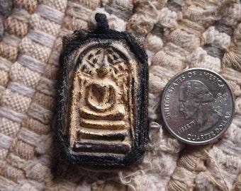 Thai Buddhist Amulet Pendant Somdej Clay - DESIGN B