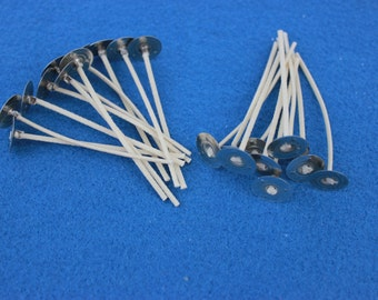 Candle Wicks  #765  - 50 -  2.5in for votives, small pillars or containers