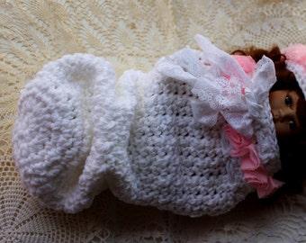 Vintage Cocoon Crochet Pattern Downton Abbey Inspired Baby Crochet Pattern KrissysWonders