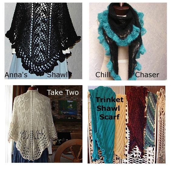 Garter Stitch Zig Zag Scarf Knitting Pattern : Pattern for scarf wrap shawl zig zag