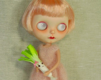 Darling Leek Girl or Boy,  Toy for Dolls, You Choose Boy or Girl MADE TO ORDER