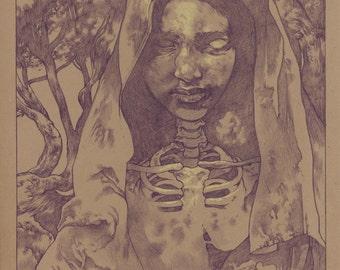 Shroud of the Soul Keeper Print