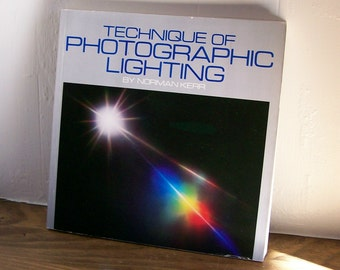 "Photography Book ""Techniques of Photographic Lighting"" Norman Kerr 1982"