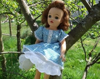Vintage Inspired Full Circle Dress with Crinoline & Panties for Miss Revlon, etc