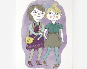 Little Ladies - Giclee Print