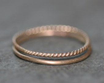 Ultra Thin Ring in 14K Gold