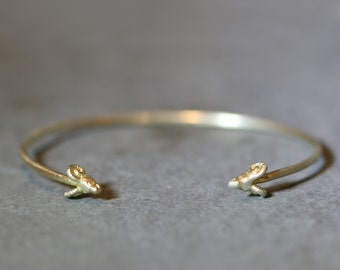 Ram Cuff Bracelet  in Brass