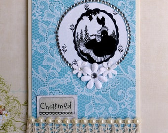 Victorian Charmed Card