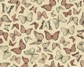 Mirabelle, Terrecotta Butterflies, from Quilting Treasures, yard