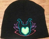 Youth Maleficent Mouse Head Winter Hat