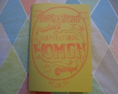Shape & Situate: Posters of Inspirational Women in Europe #6 - Feminist, Art, Political Zine