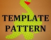 Fabric Applique TEMPLATE ONLY Dinosaur