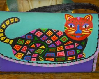 Purse with Mola Cat