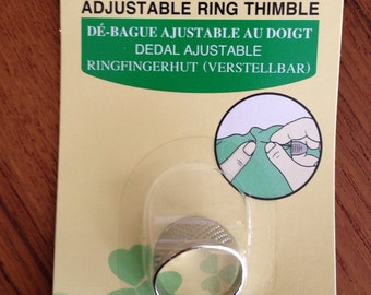 Clover Japanese Knuckle Ring Thimble