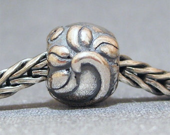 SMALL CORE Sterling Silver Big Hole Bead No. 18 Spacer European Charm Bracelet Bead