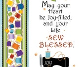 Greeting Card - Happy Birthday for Quilters
