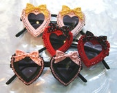 Dolly Heart Sunglasses Accessory Sunnies Handmade by Cutie Dynamite