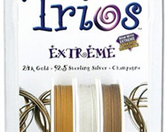 Trios Extreme Variety Pack Beading Wire, Medium Weight Beading Wire