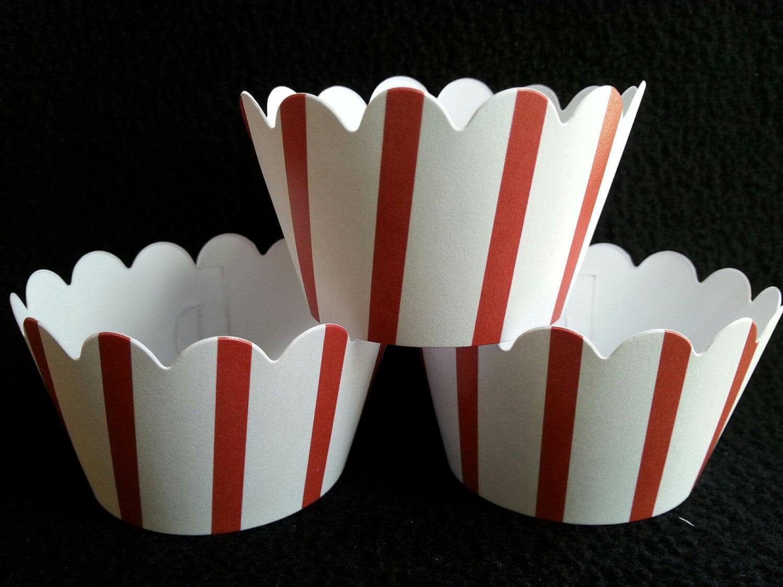 popcorn cupcake liner